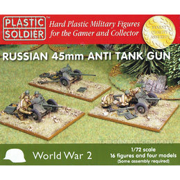 Soviet 45mm Anti Tank Guns - 1/72nd