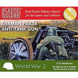 German Pak 38 Anti Tank Gun - 1/72nd
