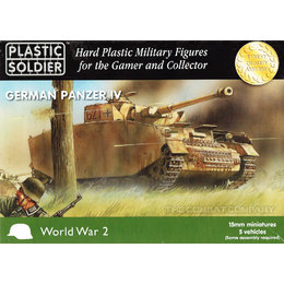 German Panzer IV (5pcs)