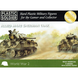 Allied M4A2 Sherman Tank (5pcs)