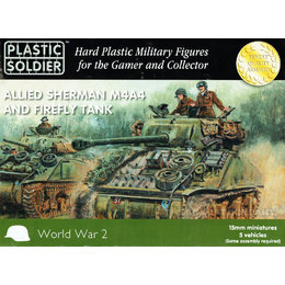 Allied Sherman M4A4 Firefly (5pcs)