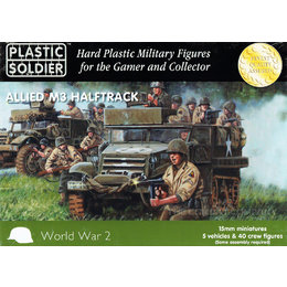 Allied M3 Halftrack (5pcs)