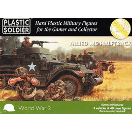 Allied M5 Halftrack (5pcs)