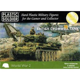 British Cromwell Tank (5pcs)
