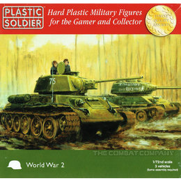 Soviet Tank T34/76 or 85 - 1/72nd