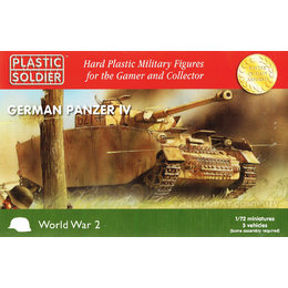 German Tanks Panzer IV's - 1/72nd