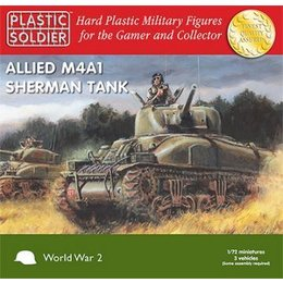 Allied M4A1 75mm Sherman - 1/72nd