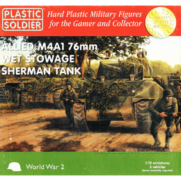 Allied M4A1 76mm Sherman Wet - 1/72nd