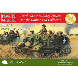 British Universal Carrier - 1/72nd