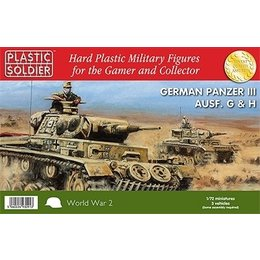 German Tanks Panzer III G,H - 1/72nd