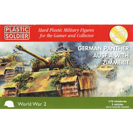 German Panther Ausf A w/Zimmerit - 1/72nd