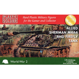 Allied Sherman M4A4 / Firefly - 1/72nd