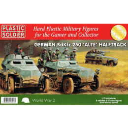 German SdKfz 250 Alte Halftrack - 1/72nd