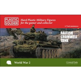 British Cromwell Tank (3pcs)