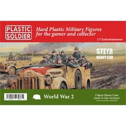 German Steyr Heavy Car - 1/72nd
