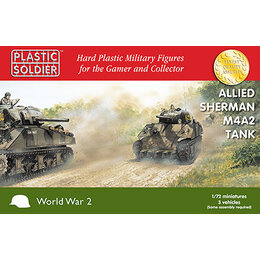 Sherman M4A2 1/72nd