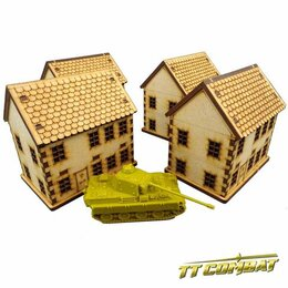 15mm Town House Set