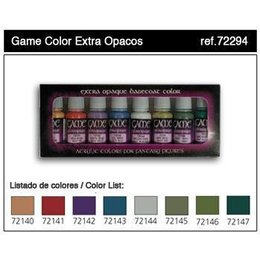 Extra Opaque Set - 8pcs