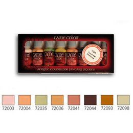 Skin Tones Set - 8pcs