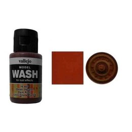 507 Wash - Dark Rust
