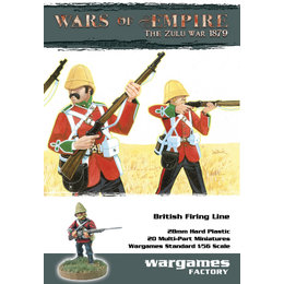 Zulu Wars British Firing Line