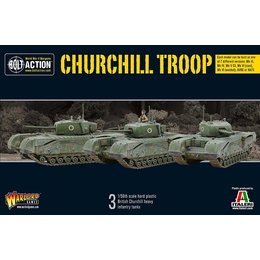 British Churchill Tank Troop
