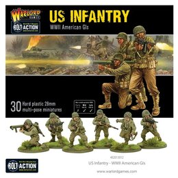 New US Infantry Plastic Infantry (30)