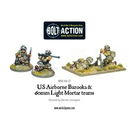 AA-27 American Airborne Bazooka and 60mm Light Mortar Teams