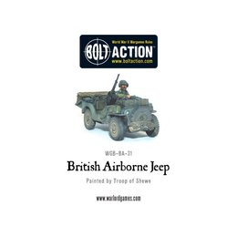 BA-102  British Airborne Red Devils Jeep