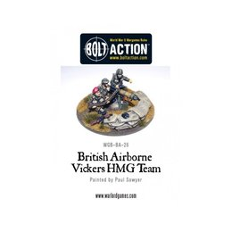 BA-26  British Airborne Vickers HMG Team