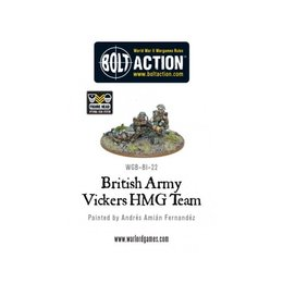BI-22  British Vickers HMG Team