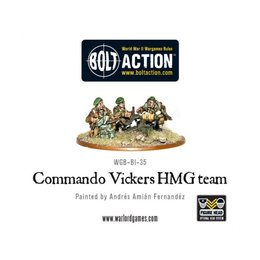 BI-32  British Commando Vickers HMG Team