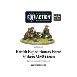 BI-61 British BEF Vickers MMG Team