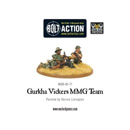 BI-71 British Gurkha Vickers MMG Team