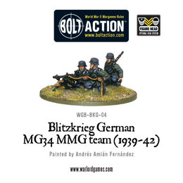 BKG-04 German Blitzkreig MG34 MMG Team (1939-42)