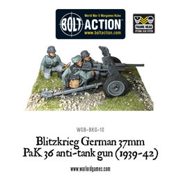 BKG-10 German Blitzkreig 37mm PaK36 anti-tank gun (1939-42)