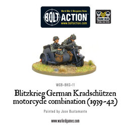 BKG-11 German Blitzkreig Kradschutzen Motorcycle Combination (1939-42)