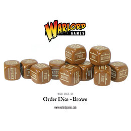 Dice - Brown