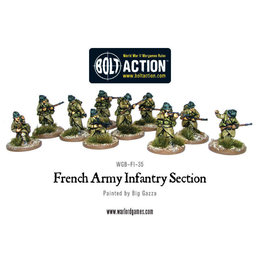 FI-22 French Army Squad