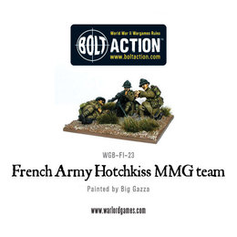 FI-23 French Early War French MMG Team