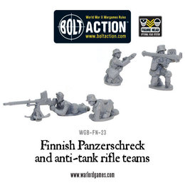 FN-23 Finnish Panzerschreck and Anti-Tank Rifle Teams
