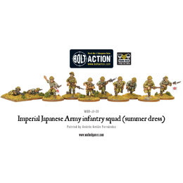 JI-30 Japanese Imperial Army Infantry Squad