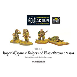 JI-32 Japanese Imperial Sniper and Flamethrower