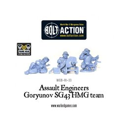 RI-31 Soviet Assault Engineers SG43 HMG team