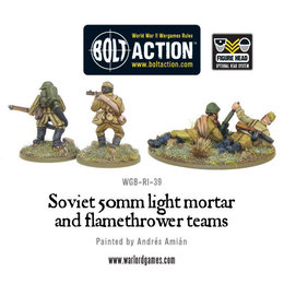 RI-39 Soviet 50mm Light Mortar & Flamethrower Teams