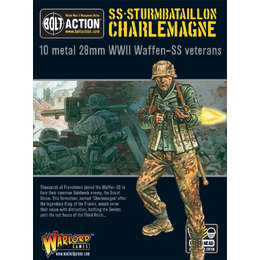SS-02 German Waffen-SS Sturmbataillon Charlemagne
