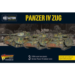 German Panzer IV Zug