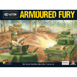 Armoured Fury Tank War Starter Set