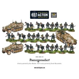 WM-501 German Panzergrenade Platoon