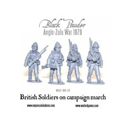 BR-25 British Soldiers on Campaign March